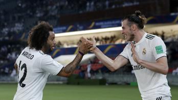 Bal, jobb, bal, így lőtte Bale klub-vb-döntőbe a Realt