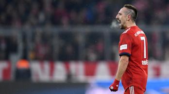 Ribery mégsem végzett a Bayernnél?