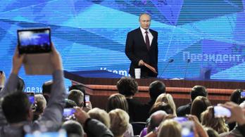 Putyin: Ne picsogjon Európa, ha védekezünk