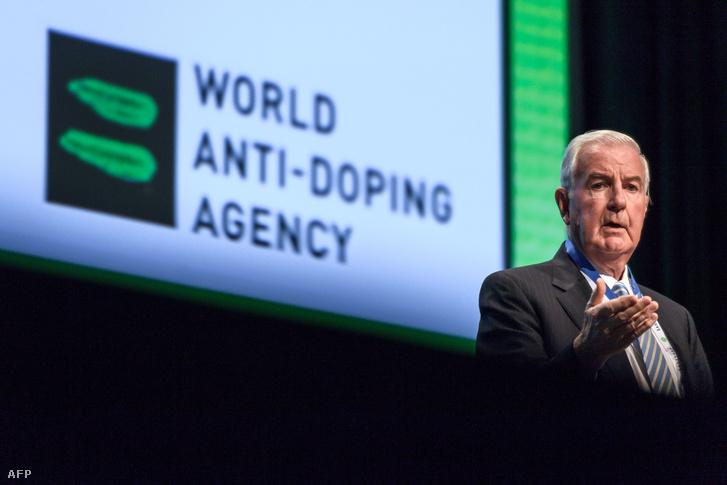 Craig Reedie a Nemzetközi Doppingellenes Ügynökség vezetője