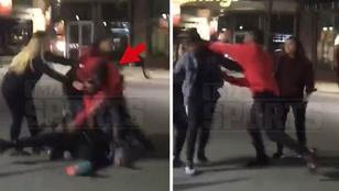 Pusztító balegyenessel ütött ki egy férfit az NFL-es