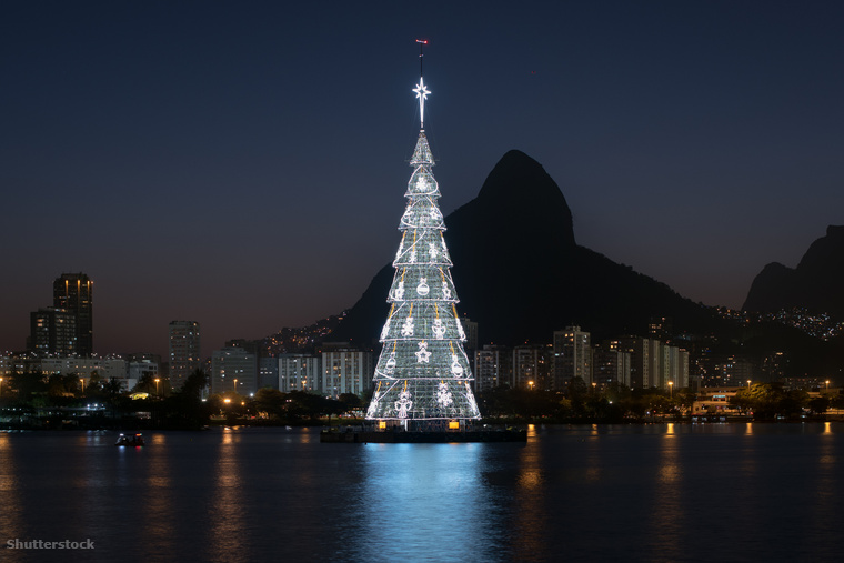 Rio De Janiero sem tűnik elsőre egy hagyományos karácsonyi városnak, pedig a brazilok imádják a karácsonyt