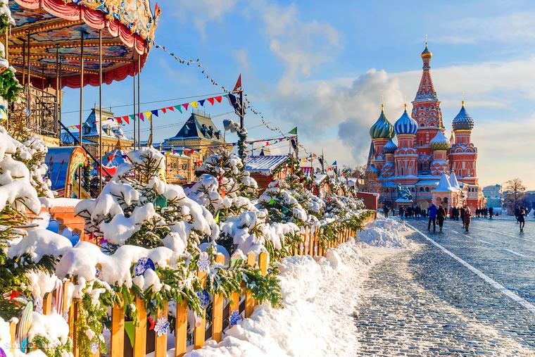Ha hiányzik a fehér karácsony, akkor Moszkvában elég nagy az esély, hogy egy ilyen kép fogadjon téged, vagy legalábbis nagyon-nagyon hideg