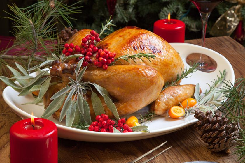 Karácsonyi töltött pulyka: így nem fog kiszáradni sütés közben