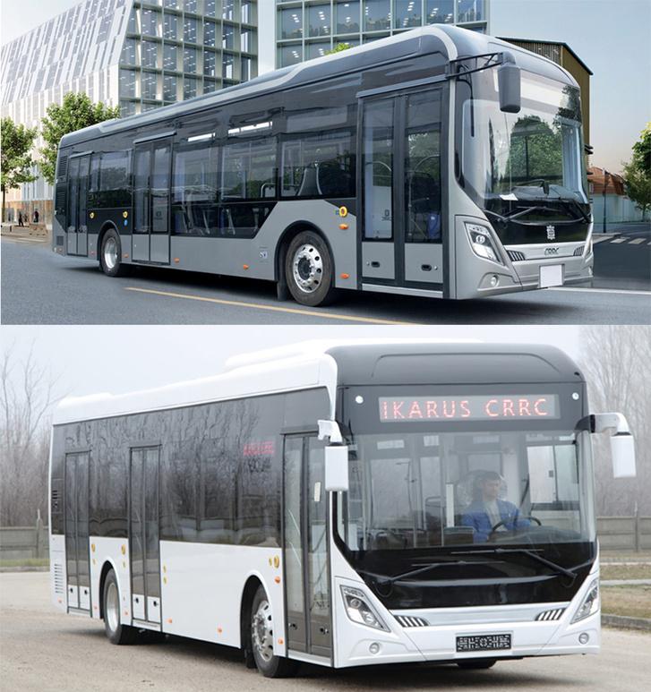 Felül az eredeti kínai, alul a magyar változat. Oldalról a menő design elemek lemaradtak az Ikarus buszáról