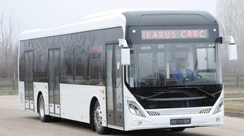 Kínai az új Ikarus elektromos busz