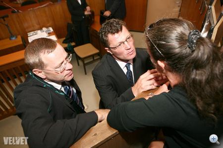 Az ügyvéd fogházat kért Stohlnak