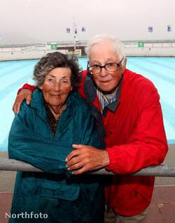 Bill és Thelma Donald a 39. romantikus nyaraláson Plymouthban