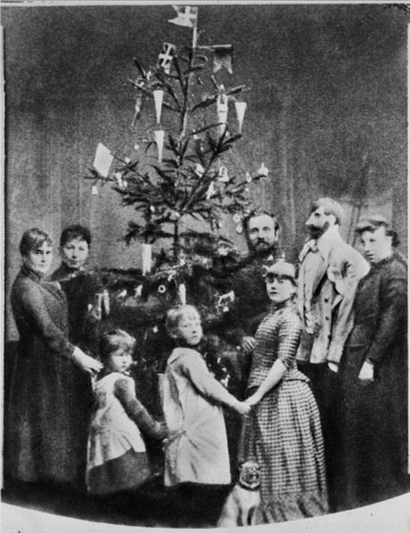 Fotó az 1840-es évek végéről.