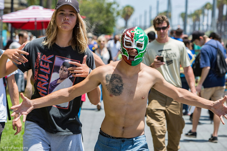 Szintén július, szintén USA, de ez már San Diego és a ComicCon