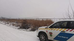 Beszakadt a jég két fiú alatt Biatorbágyon