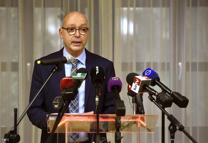 Péterfalvi Attila, a Nemzeti Adatvédelmi és Információszabadság Hatóság (NAIH) elnöke