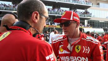 Räikkönen miatt szomorkodik a Mercedes csapatfőnöke