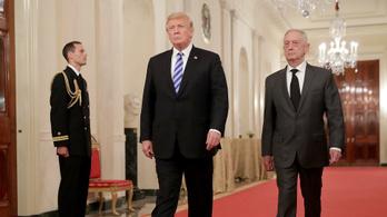 Trump: Jim Mattis védelmi miniszter február végén távozik tisztségéből