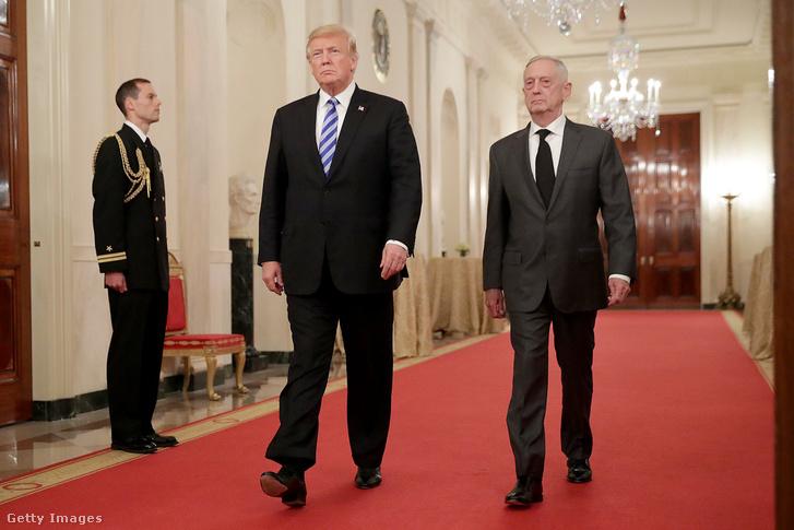 Donald Trump és James Mattis