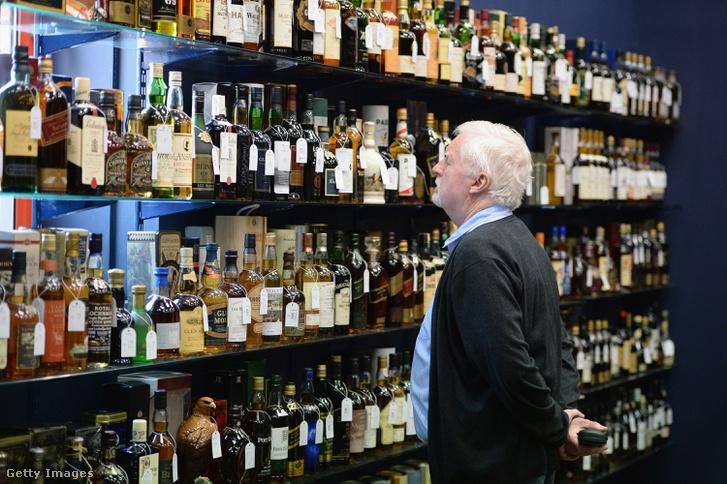 Aukcióra bocsájtott skót viszkik