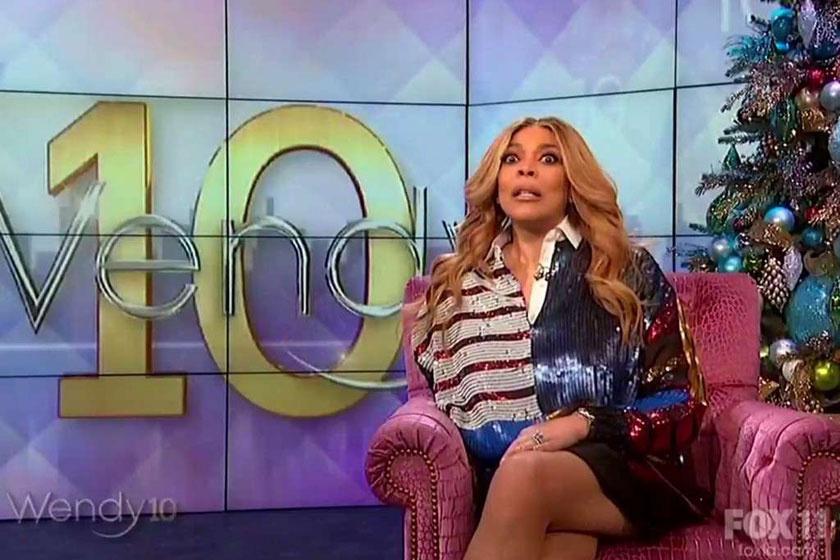 Wendy Williams a műsor alatt többször is olyan arcot vágott, amikor látszott rajta, hogy nincs jól. Emellett sokszor akadozva mondta a mondatokat is.