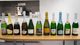 Szilveszteri pezsgőteszt: melyik a legfinomabb száraz fehér?