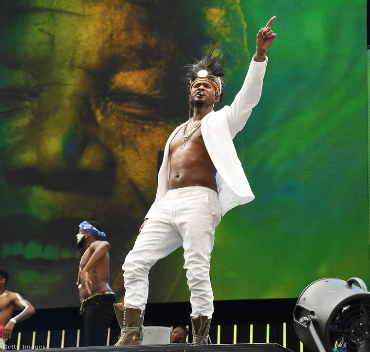 December másodikán Usher fellépett Johannesburgban egy Nelson Mandela tiszteletére rendezett koncerten