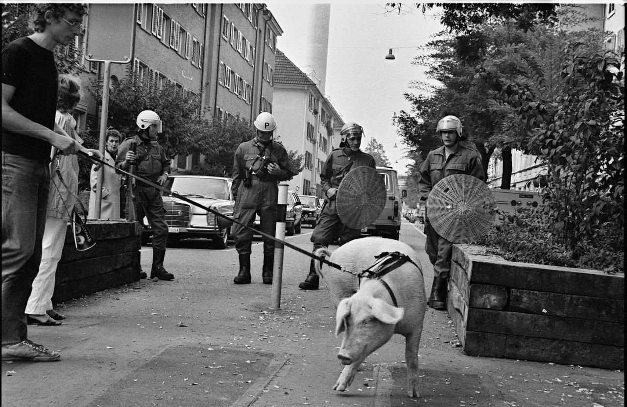 Körmenet a dzsentrifikáció ellen. 1983 október