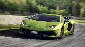 A következő Aventador lesz az első hibrid Lamborghini