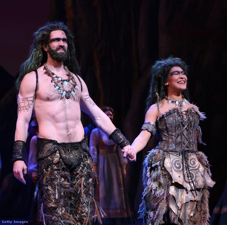 Ők Timothy Hughes és Olivia Phillip, a Broadway sztárjai