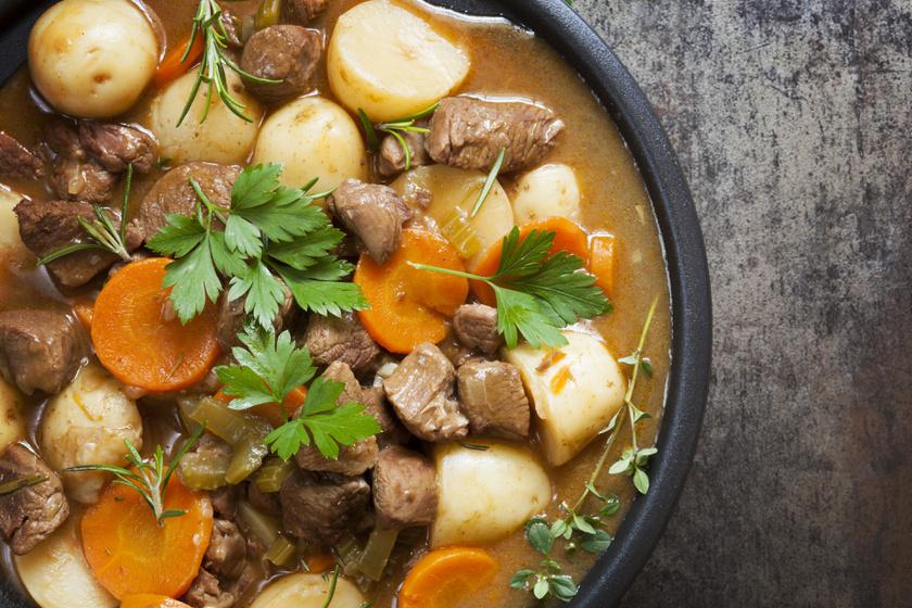 Így készül az igazi ír gulyás: ebben tér el a magyar recepttől
