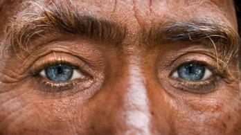 Miért lett az emberiség hatoda pár ezer év alatt kék szemű?