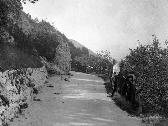 A Guckler-sétány 1927-ben - Fortepan
