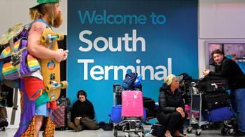 Megint leállították a Gatwick reptér forgalmát