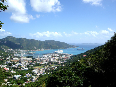 Road Town, a Brit Virgin-szigetek fővárosa