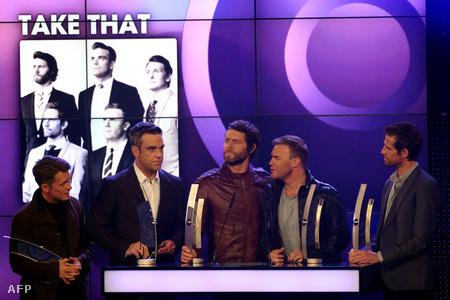 Mark Owen, Robbie Williams, Howard Donald, Gary Barlow és Jason Orange