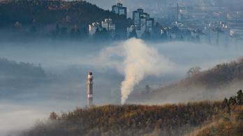 Egy tucat magyar városban veszélyes a levegő