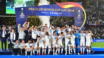 Sorozatban harmadszor a Real Madrid a klubvilágbajnok