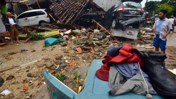 Súlyos cunami Indonéziában: 222 halott, legalább 843 sérült