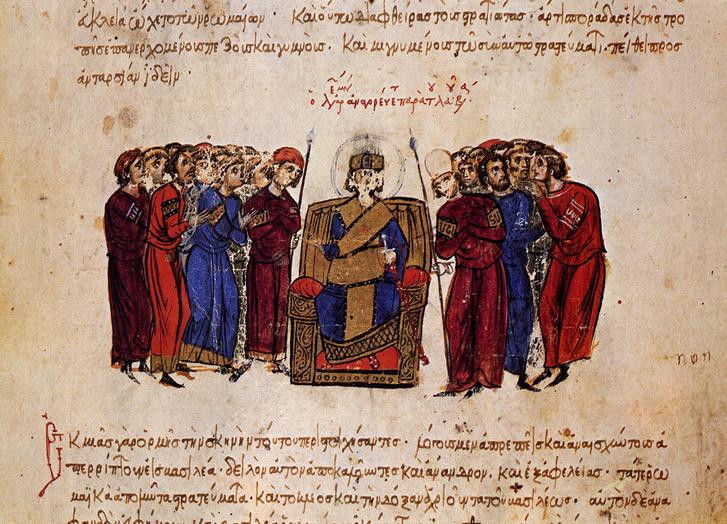 V. Leon császárságának kihirdetése