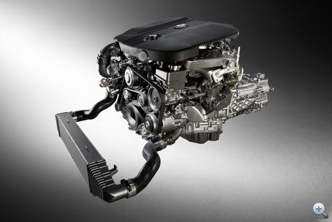Mercedes 250 cdi motor. Ránézésre is bonyolult.