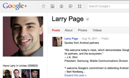 Larry Page utolsó bejegyzése bő egy hónappal ez előttről