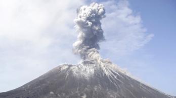 Az indonéziai cunamiért felelős vulkán produkálta az emberiség történetének eddig legdurvább kitörését