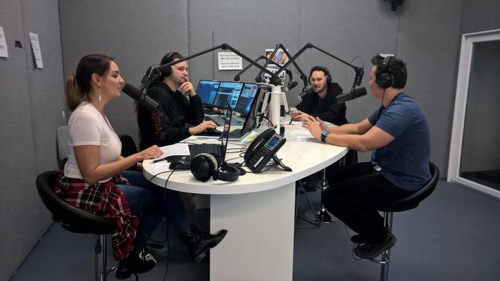 A Rock FM stúdiója