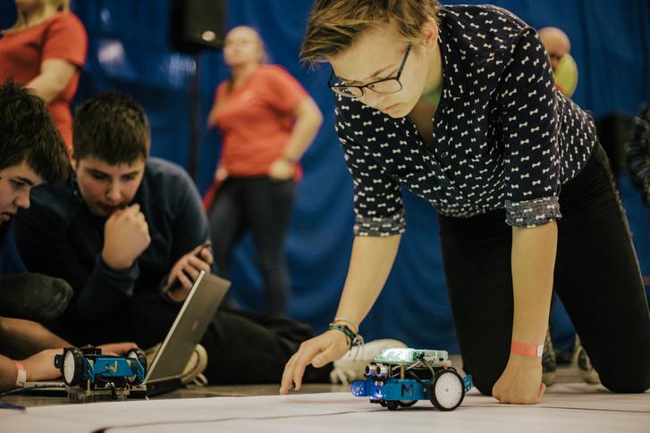 Robotex kiállítás Tallinnban.