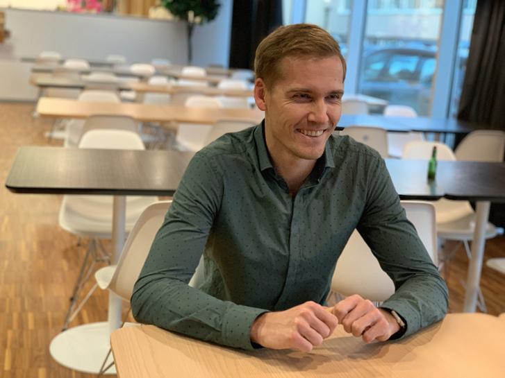 Tanel Erm, a Microsoft tallinni fejlesztőrészlegének vezetője, aki majdnem a kezdetektől a Skype-nál dolgozott.