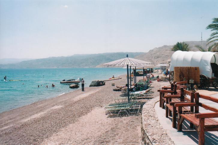 Ez a Vörös-tenger, amit Mózes kettéválasztott