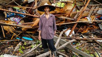 Már 281 halottja van az indonéziai cunaminak
