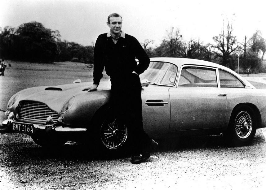 Aston Martin DB5 007 Sean Connery
