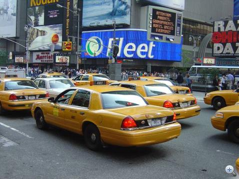 Crown Vic, az utolsó alvázas taxi