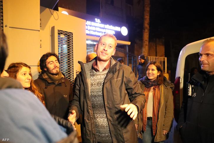 Max Zirngast Ankarában 2018. december 24-én