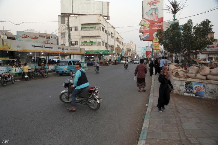 Jemeni Hodeidah város, 2018. december 17-én
