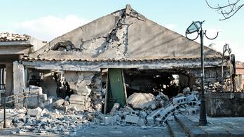 Újabb földrengés rázta meg Szicíliát