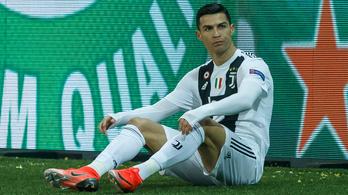 Ronaldo pihenőt kapott a Juventustól